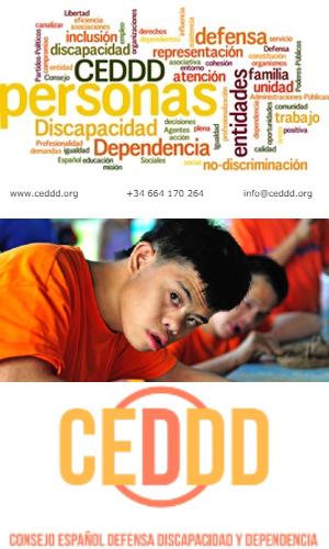CEDDD - Consejo Español para la Defensa de la Discapacidad y la Dependencia