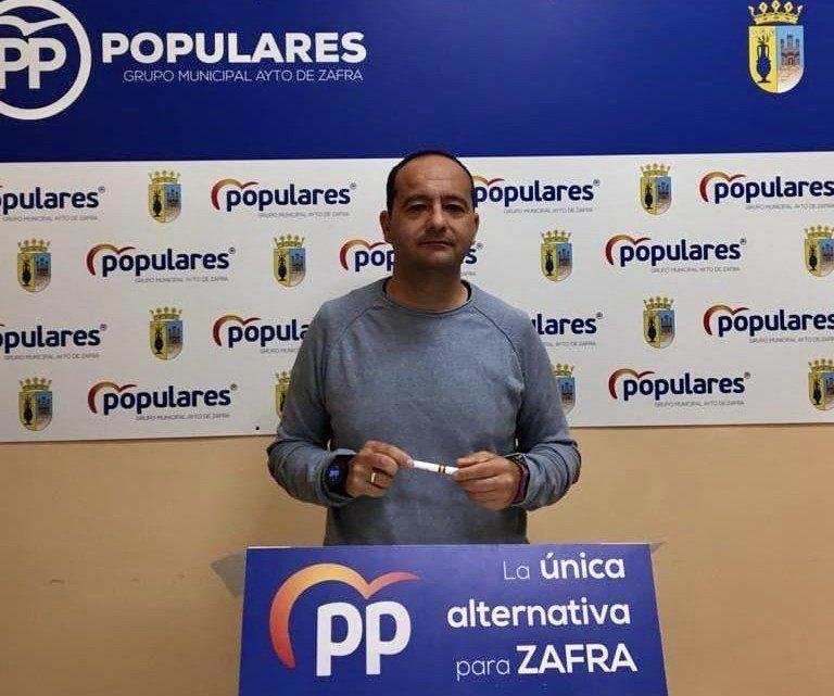 Javier Domingo Jaramillo, concejal del PP en Zafra