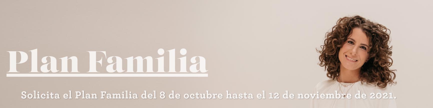 Banner sobre el «Plan Familia». / © Fundación Adecco