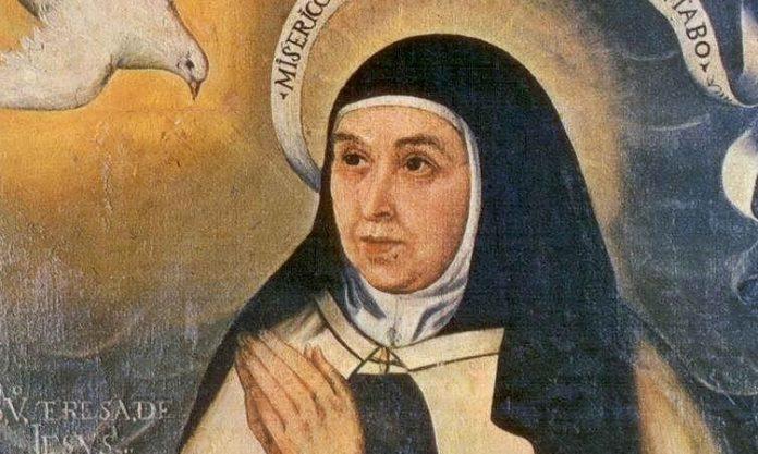 Santa-Teresa-de-Jesus-santoral-octubre