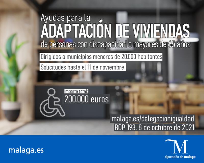 Cartel de la convocatoria / © Diputación de Málaga